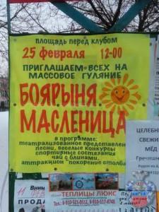 2017 масленица в Полотняном Заводе1