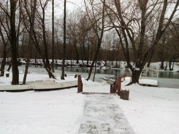 пристань усадьба Гончаровых